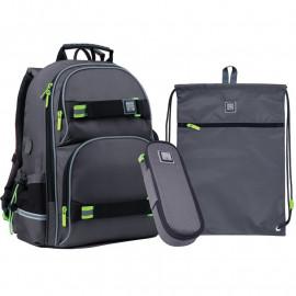 Рюкзак з наповненням пенал сумка для взуття Wonder Kite SET_WK21-702M-4, 48288