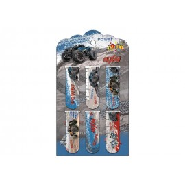 Закладки магнитные 6 штук Power Kidis, 13393