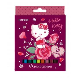Фломастери Kite Hello Kitty 12 кольорів HK19-047, 40117