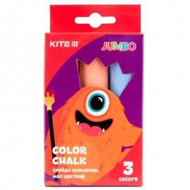 Крейда кольорова Jumbo Kite Jolliers 3 кольори K19-077, 40275