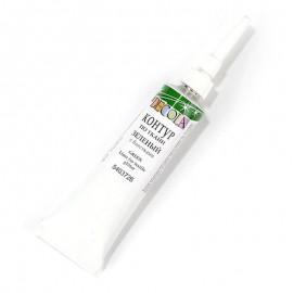 Контур по ткани DECOLA, зеленый с блестками, туба 18 мл, ЗХК
