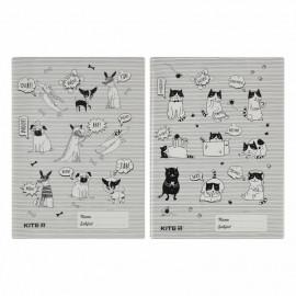 Обкладинка-розмальовка для книжок А4+ Kite PVC K20-310, 45863