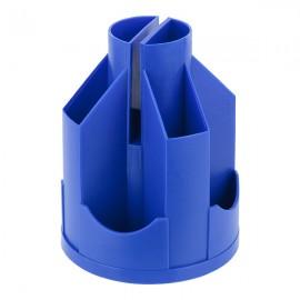 Подставка-органайзер, пластиковая, синяя, 11 отделений, 103*135 мм, Delta by Axent, D3003-02, 32807