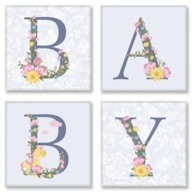 Набір для розпису за номерами BABY прованс Ідейка СН107, 309772
