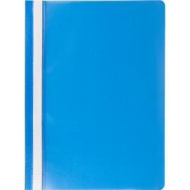 Швидкозшивач пластиковий А4, блакитний, Jobmax, Buromax, BM.3313-14, 331314