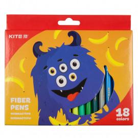 Фломастери Kite Jolliers 18 кольорів K19-043, 40127