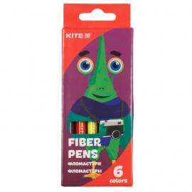 Фломастери Kite Jolliers 6 кольорів K19-046, 40125