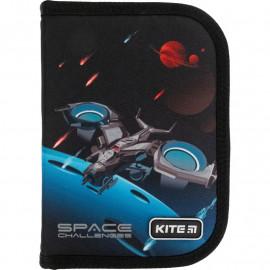 Пенал  Kite Education Space challenges K21-621 1 відділення 1 відворот, 47282