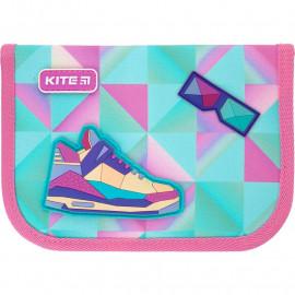 Пенал  Kite Education Cool girl K21-622-7 1 відділення 2 відворота, 47298