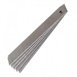 Лезвия для ножей канцелярских 9 мм, 10 шт/уп, Delta by Axent, D6523, 31250