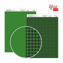 Бумага для дизайна Christmas двусторонняя 21*29,7 см 200 г/м2 ROSA Talent, 5318039