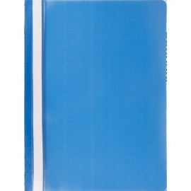 Скоросшиватель пластиковый А4, синий, Jobmax, Buromax, BM.3313-02, 331302