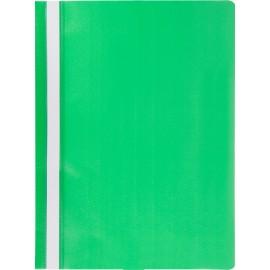 Швидкозшивач пластиковий А4, зелений, Jobmax, Buromax, BM.3313-04, 331304