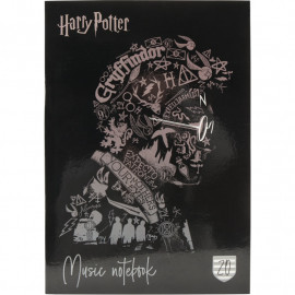 Зошит для нот А4 Kite Harry Potter 20 аркушів HP20-404-2, 45105