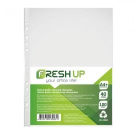 Файли А4 глянцеві 40 мкм 100 штук Fresh Up, FR-2040, 600459