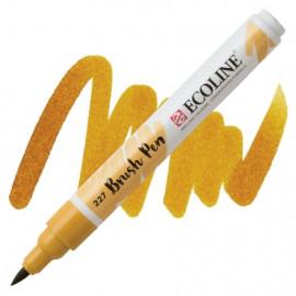 Пензель-ручка акварельна Royal Talens Ecoline Brushpen вохра жовта (227), 11502270