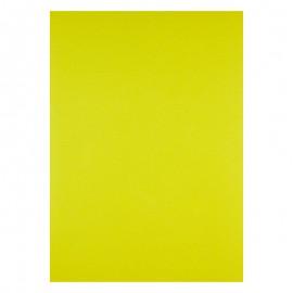 Обложка картонная /под кожу/ А4, желтая, Axent, 27..