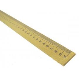 Лінійка 50 см деревяна Атлас AS-0656, 901608