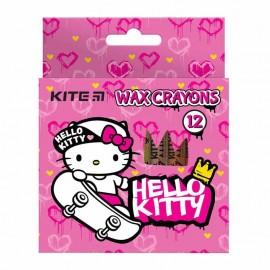 Олівці воскові Kite Hello Kitty 12 кольорів НК21-070, 47394