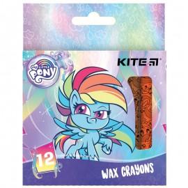 Олівці воскові Kite My Little Pony 12 кольорів НW21-070, 47393