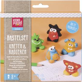 Набір моделюючої глини Knorr Prandell для іграшки ластика Monsterland 5 брусків по 20грам, 212159101