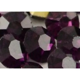 Стразы, 144 шт/уп, 1,9-2 мм, аметист, 030537