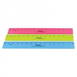 Лінійка для шульги 15 см пластикова Kum Flexi Lefty, 39206