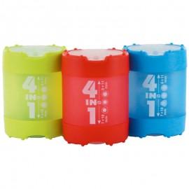 Підстругачка з контейнером 4 в 1 пластикова Kum, 42523