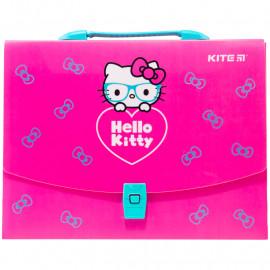 Портфель- коробка А4 Kite Hello Kitty пластиковий HK20-209, 45969