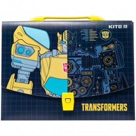 Портфель- коробка А4 Kite Transformers пластиковий TF20-209, 45972
