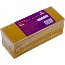 Пластилін скульптурний вохряний 800 грам ГАММА UA, 402303