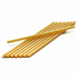 Термоклей жовтий діаметр 7 мм довжина 25-30 см, ООПТ 1216, 152165