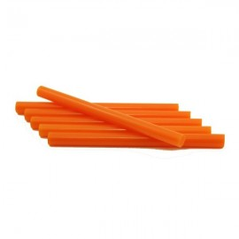 Термоклей помаранчевий діаметр 7 мм довжина 25-30 см, ООПТ 1229, 158372