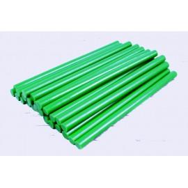 Термоклей зелений діаметр 7 мм довжина 25-30 см, ООПТ 1214, 152141