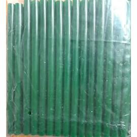 Термоклей зелений діаметр11 мм довжина 25-30 см, ООПТ 1222, 152226