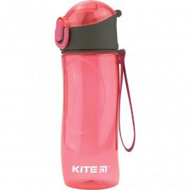 Пляшечка для води Kite 530 мл рожева K18-400-02, 38763