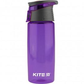 Пляшечка для води Kite 550 мл фіолетова K18-401-05, 38766