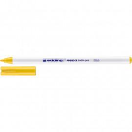 Маркер для текстилю Edding Textile 4600 жовтий, 42513