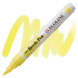 Пензель-ручка акварельна Royal Talens Ecoline Brushpen жовта лимонна (205), 11502050