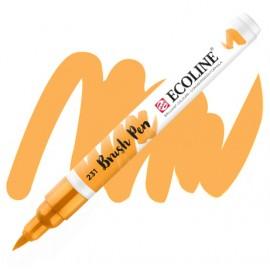 Пензель-ручка акварельна Royal Talens Ecoline Brushpen вохра золотиста (231), 11502310