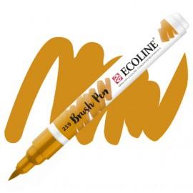 Пензель-ручка акварельна Royal Talens Ecoline Brushpen жовта пісочна (259), 11502590