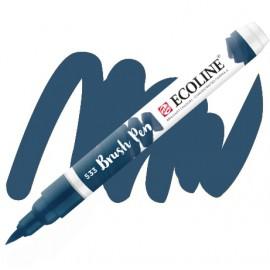 Пензель-ручка акварельна Royal Talens Ecoline Brushpen індіго (533), 11505330