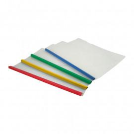 Папка-швидкозшивач А4 з планкою 6 мм асорті кольорів Axent 1416-00-A, 16001