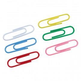 Скріпки кольорові Axent 28 мм 100 штук 4106-A, 07887