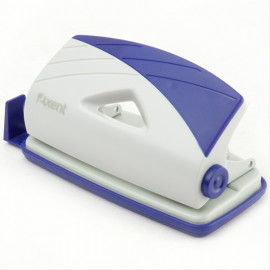 Діркопробивач Axent Duoton 10 аркушів сіро-синій 3710-02-A, 07826