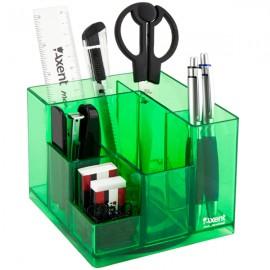 Набір настільний Axent Cube 9 предметів салатовий, 2106-09-A, 35179