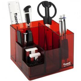 Набір настільний Axent Cube 9 предметів червоний, 2106-06-A, 35178