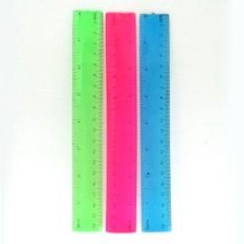 Лінійка 20 см, силіконова, гнучка, Flex, 735794