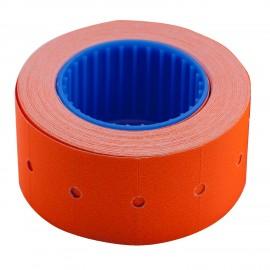 Ценник прямоугольный 22*12 мм, оранжевый, внешняя намотка, 500 шт/6 метров, Buromax, 28210111