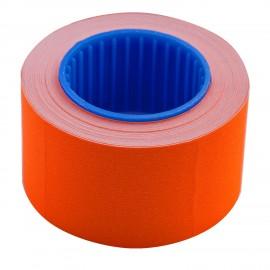 Ценник прямоугольный 26*16 мм, оранжевый, внешняя намотка, 375 шт/6 метров, Buromax, 28210311